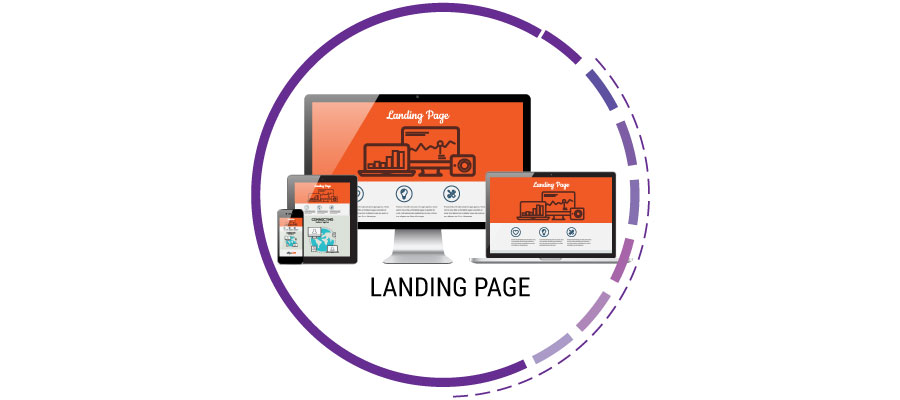 creazione di landing page